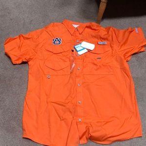 Collegiate Bonehead short sleeve shirt large